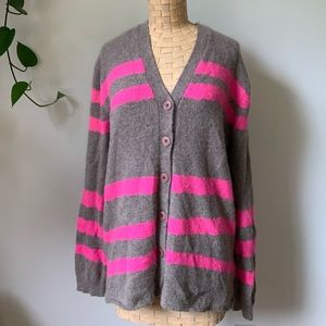 Marc Jacobs Lambswool Button Down Cardigan Sweater